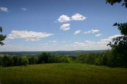 as well as a spectacular view of the Schoharie Valley.