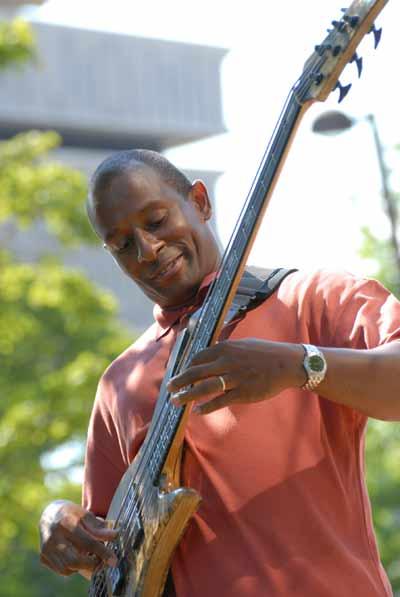 Kenny Davis of the Jazzmobile