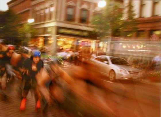 Tom D'Ambrose: Rollergirls