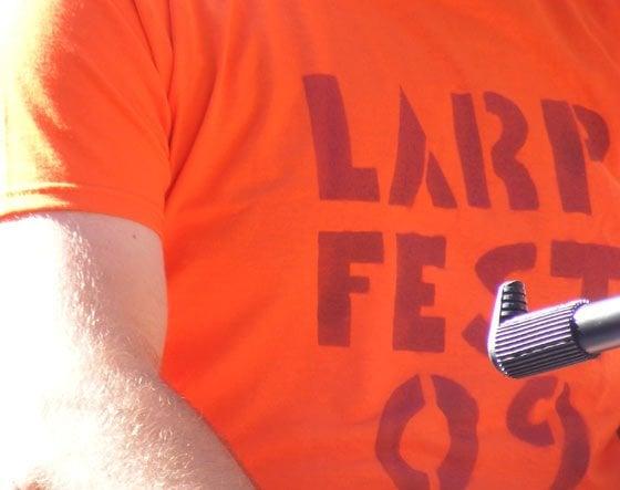 Snappy dressers: Larp Fest 09