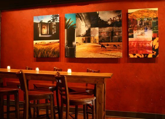 Paintings by Peter Kitchell at Mission Bar & Tapas