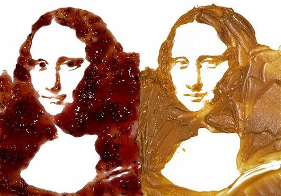 Vik Muniz: Mona Lisa