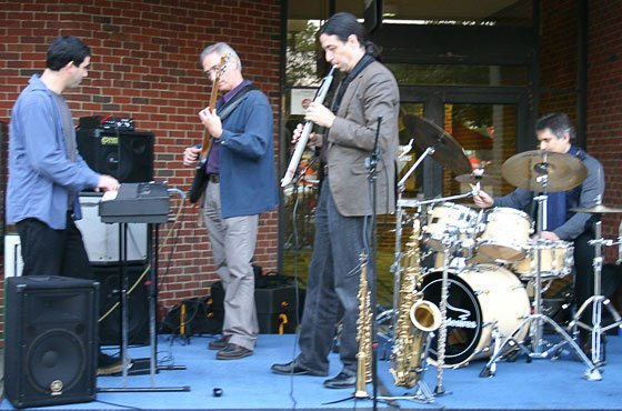 Jazz combo Unfulfilled Desires at Crowne Plaza