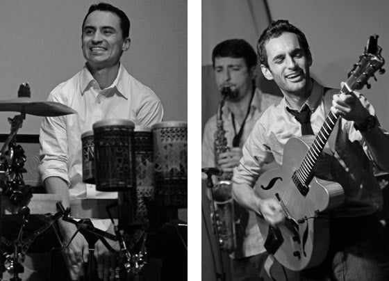 Tupac Mantilla, Ben Roseth and Julian Lage