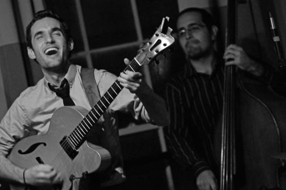 Julian Lage and Jorge Roeder