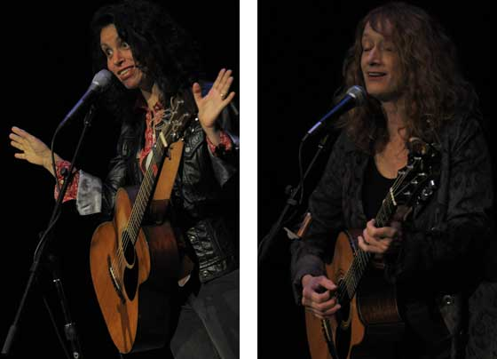 Lucy Kaplansky and Patty Larkin