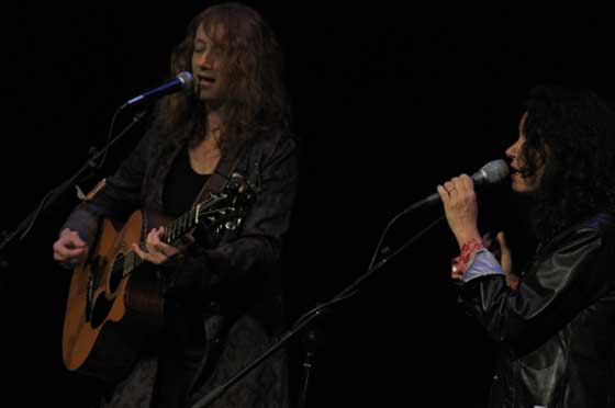 Patty Larkin and Lucy Kaplansky