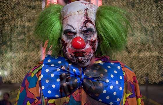 Zombieland: clown zombie