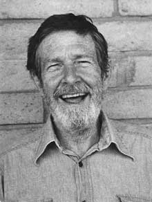John Cage (photo by Betty Freeman)