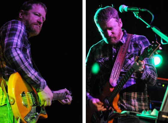 David Lowery of Camper Van Beethoven (left) and David Lowery of Cracker (right)