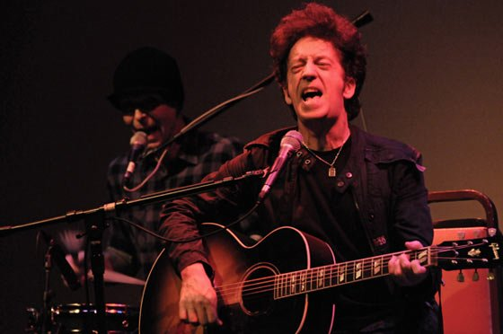 (left) Frankie Lee and (right) Willie Nile