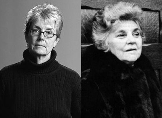 Margo Mensing and Elizabeth Bishop