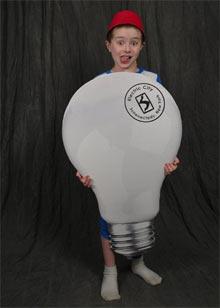 Giant lightbulbs!