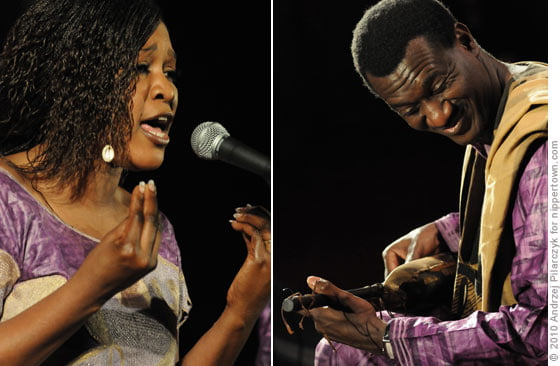 Amy Sacko and Bassekou Kouyate
