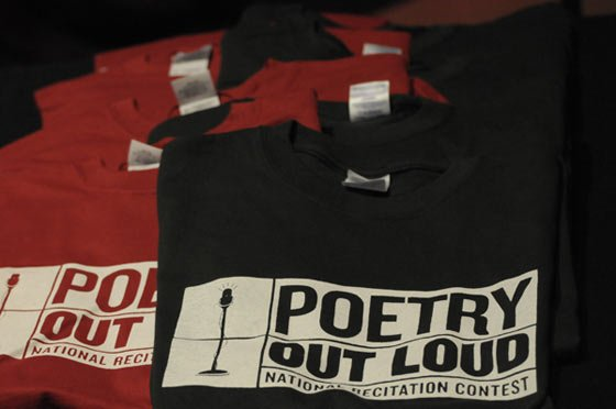 Poetry Out Loud T-shirts