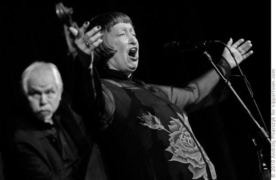 Sheila Jordan with bassist Cameron Brown