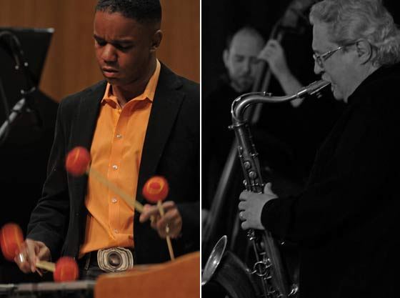 Vibraphonist Stefon Harris and Saxophonist Rich Lalama
