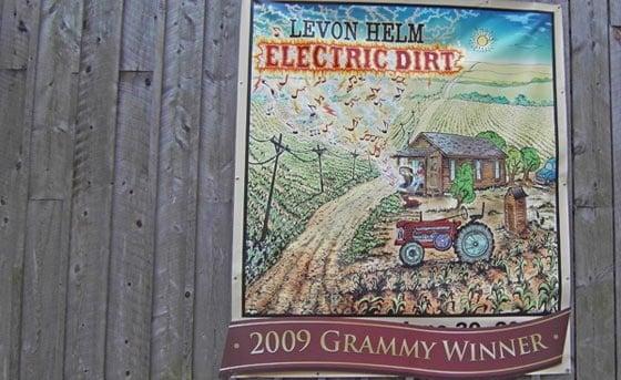 Levon Helm poster