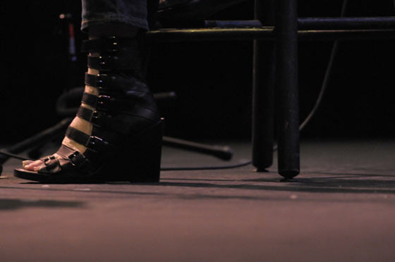 Parade of Shoes: Shawn Colvin