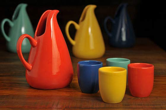Bauer Pottery: Tumblers and Pitchers @ Ferrin Gallery