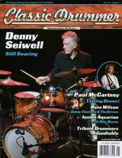 Classic Drummer Magazine