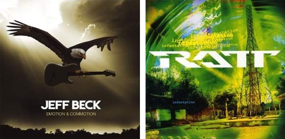 Jeff Beck: Emotion and Commotion vs. Ratt:Infestation
