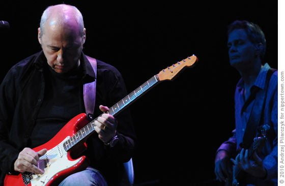 Mark Knopfler and Glenn Worf