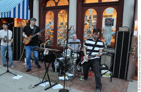 Knyghts Of Fuzz @ The River Street Beat Shop during April TNO