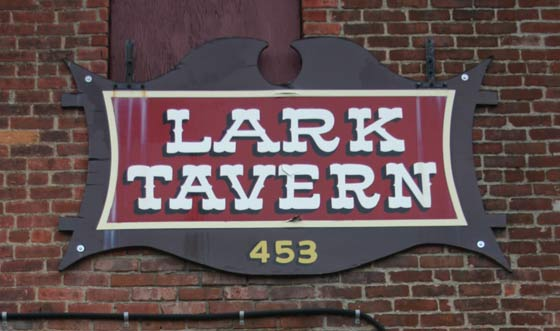 Lark Tavern Sign