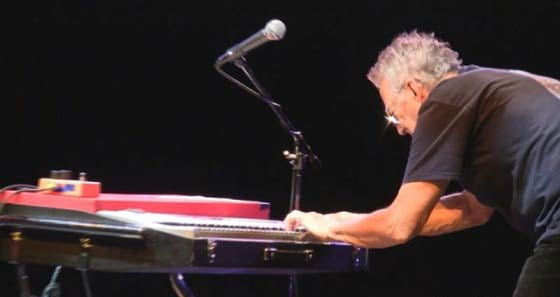 Ray Manzarek performing in Milwaukee