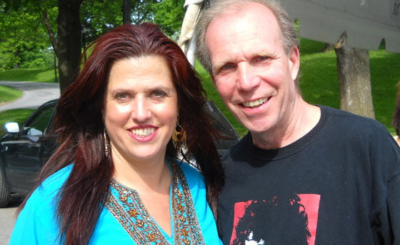 Tess Collins and Jim Gaudet