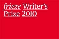 frieze Writer's Price 2010