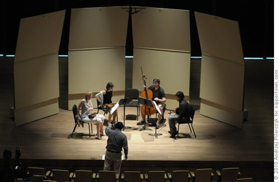 Rehearsal: Hyperion Quartet with composer Richard Danielpour
