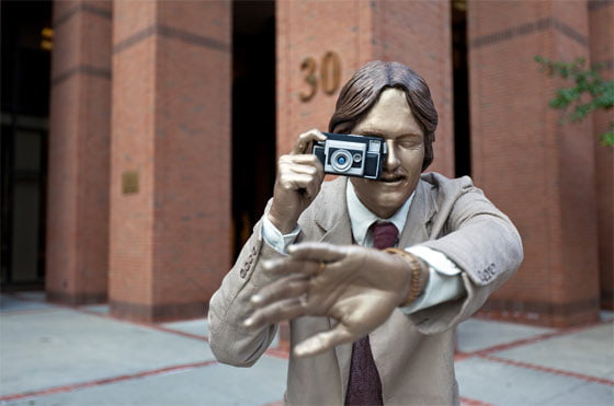 A work by J. Seward Johnson, photographed by Sebastien Barre