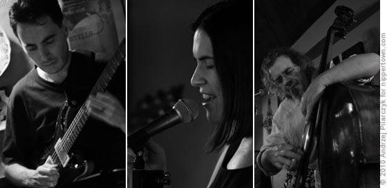 George Muscatello, Julia Donnaruma and Michael Bisio
