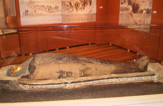 Mummy of the woman Pesed (ca. 275 BC)