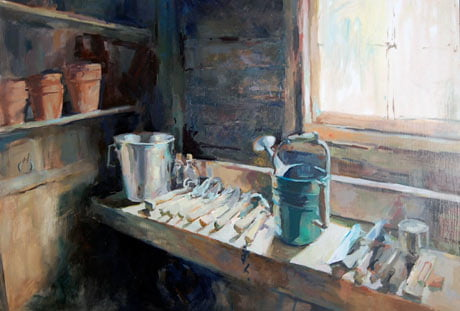 Julia Morgan-Leamon: Potting Bench at Blanford @ Studio 21 South