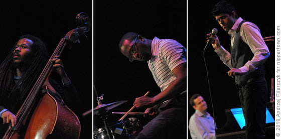 Joe Sanders, Otis Davis, Jeb Patton and Sachal Vasandani