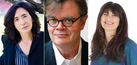 Francine Prose, Garrison Keillor (photo: Andrew Harrer Bloomberg News Landov) and Ruth Reichl
