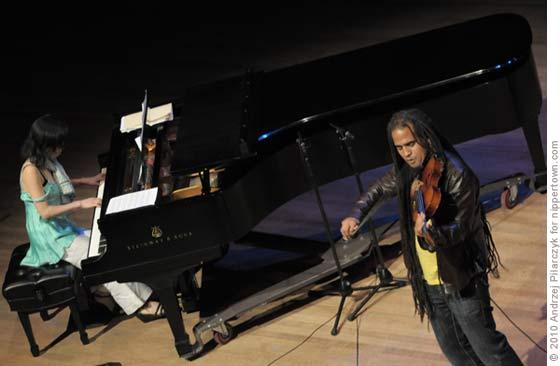 Yayoi Ikawa and Daniel Bernard Roumain