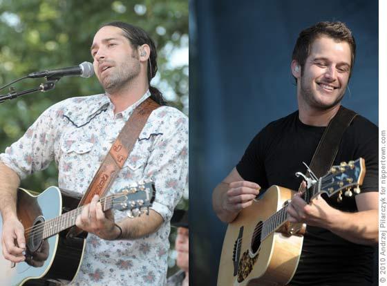 Josh Thompson and Easton Corbin