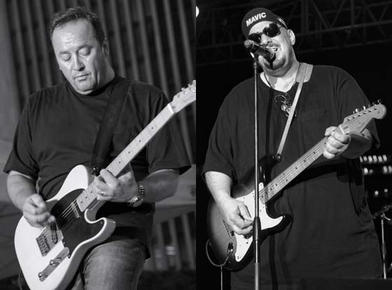 Jim Babjak and Pat Dinizio