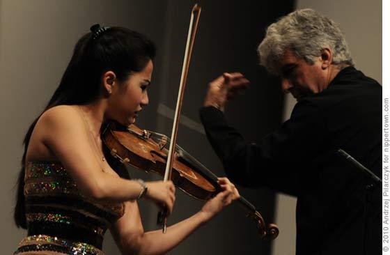 Sarah Chang and Maestro Peter Oundjian