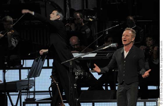 Sting and The Royal Philharmonic Orchestra @ SPAC, Saratoga Springs