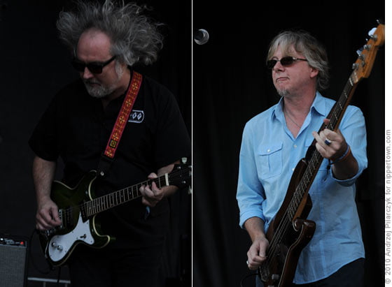 Scott McCaughey and Mike Mills of The Baseball Project