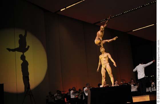 Cirque de la Symphonie @ SPAC, August 2010