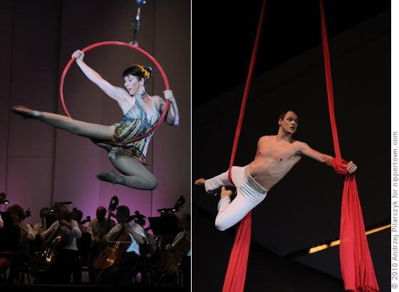 Cirque de la Symphonie @ SPAC in 2010
