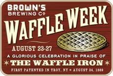 Brown's Waffle Week