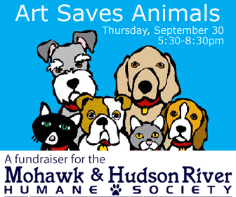 Art Saves Animals: a benefit for the Mohawk & Hudson River Humane Society