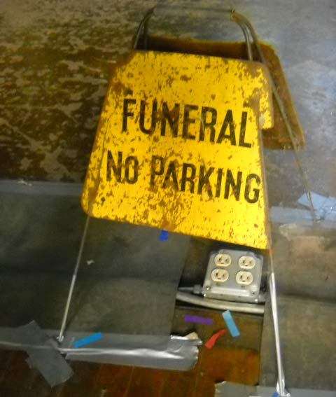 Funeral No Parking